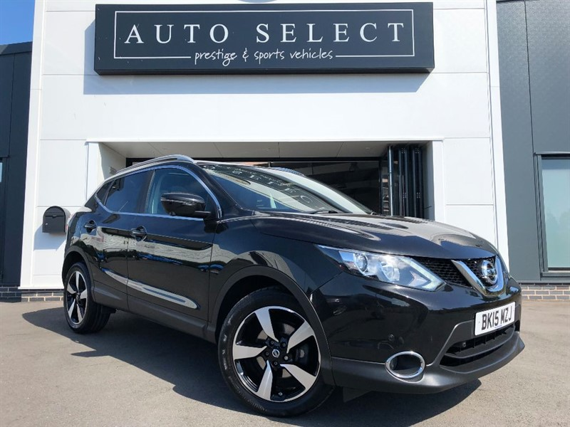 used Nissan Qashqai 1.5 DCI N-TEC PLUS PAN ROOF & NAVIGATION!! in chesterfield