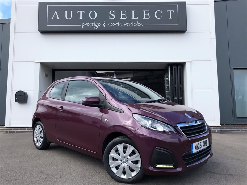 used Peugeot 108 1.0 ACTIVE �ZERO TAX!! in chesterfield