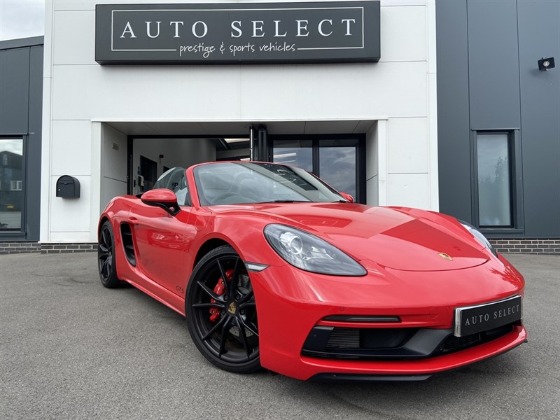 used Porsche 718 Boxster BOXSTER GTS PDK ABSOLUTLEY IMMACULATE!! in chesterfield