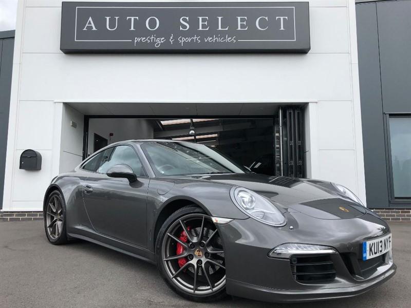 used Porsche 911 3.8 CARRERA 4S PDK HUGE SPEC!! FPSH!! EXT PORSCHE WARRANTY!! in chesterfield