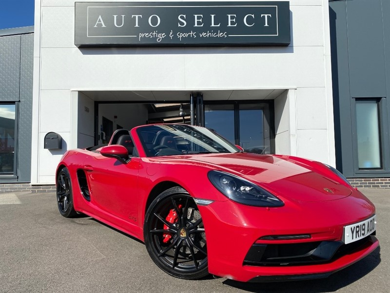 used Porsche Boxster Porsche 718 Boxster 2.5T GTS PDK (s/s) 2dr MONSTER SPEC!! in chesterfield
