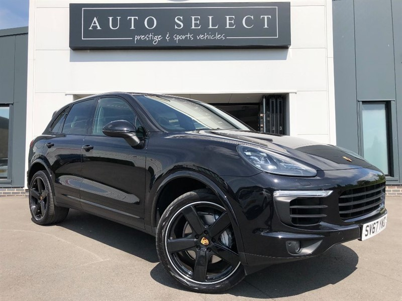 used Porsche Cayenne 4.2 S V8D PLATINUM EDITION TIPTRONIC S MASSIVE SPEC!! in chesterfield