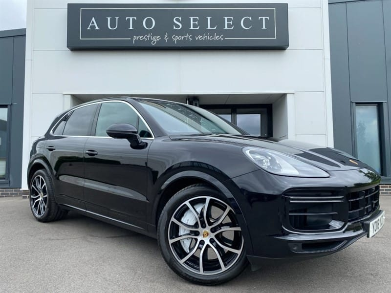 used Porsche Cayenne V8 T TIPTRONIC TURBO 1 LADY OWNER!! IMMACULATE!! in chesterfield