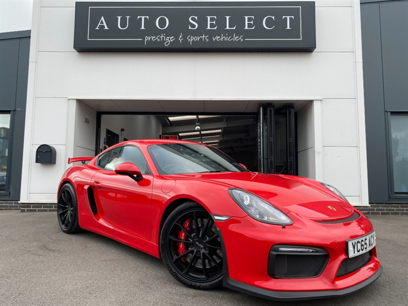 used Porsche Cayman GT4 HUGE SPEC!! IMMACULATE CONDITION!! FPSH!! in chesterfield