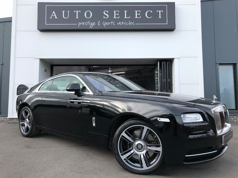 used Rolls-Royce Wraith 6.6 ONLY 800 MILES FROM NEW!! in chesterfield