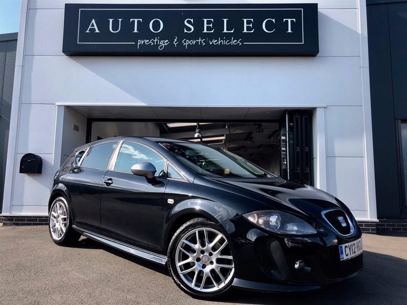 used SEAT Leon 2.0 TDI CR FR PLUS SUPERCOPA in chesterfield