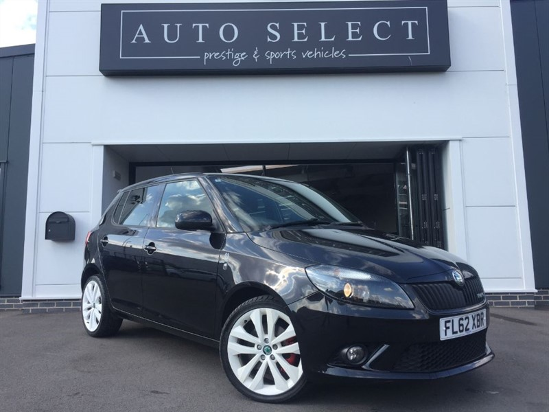 used Skoda Fabia VRS DSG in chesterfield