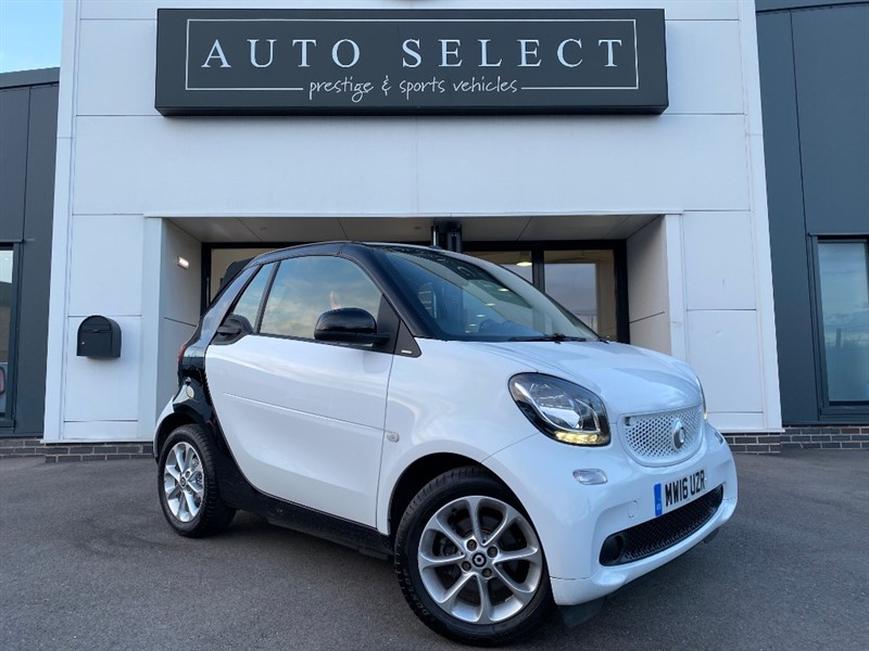 used Smart Car Fortwo Cabrio PASSION AUTO CABRIOLET IMMACULATE �0 TAX!! in chesterfield