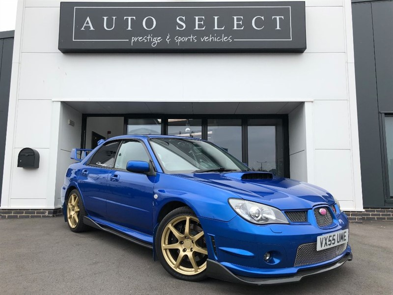 used Subaru Impreza WRX STI TYPE UK ABSOLUTE MONSTER!! in chesterfield