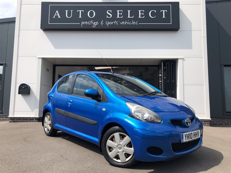 used Toyota Aygo 1.0 VVT-I BLUE ONLY 7900MILES!! 1 OWNER!! in chesterfield