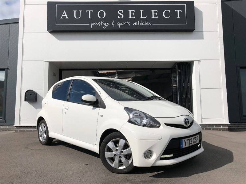 used Toyota Aygo 1.0 VVT-I FIRE AC ZERO £ TAX!! IMMACULATE!! in chesterfield