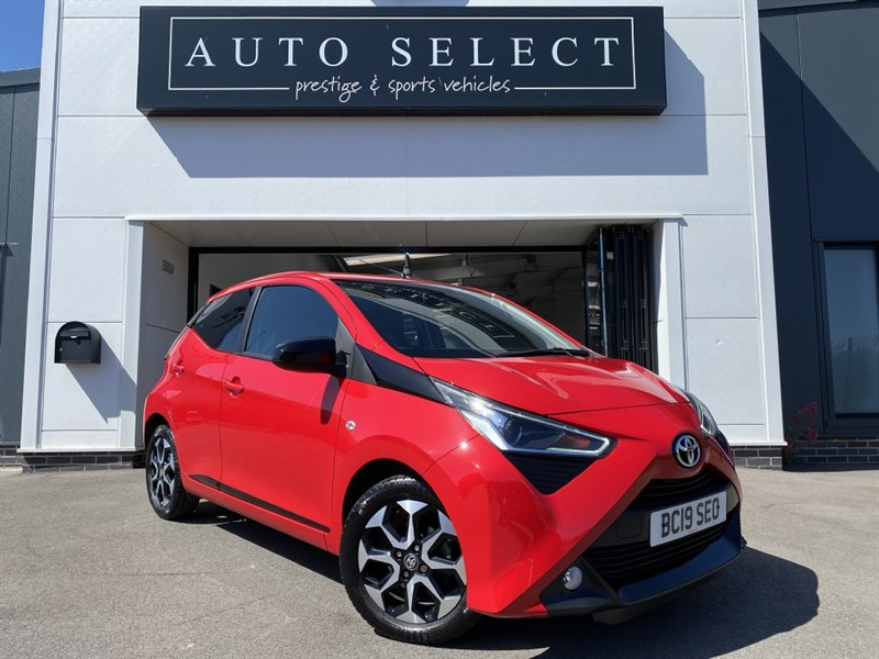 used Toyota Aygo 1.0 VVT-I X-TREND in chesterfield