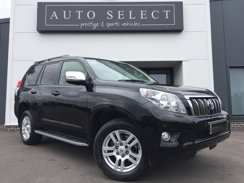 used Toyota Land Cruiser LC4 3.0 D-4D MONSTER SPEC!! STUNNING!! in chesterfield