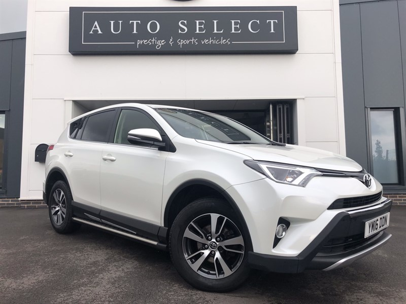 used Toyota RAV4 2.0 D-4D BUSINESS EDITION NAVIGATION!! IMMACULATE!! in chesterfield