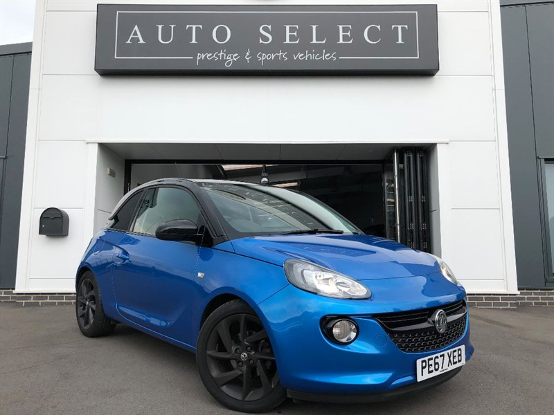 used Vauxhall Adam 1.2 ENERGISED 1 LADY OWNER!! in chesterfield