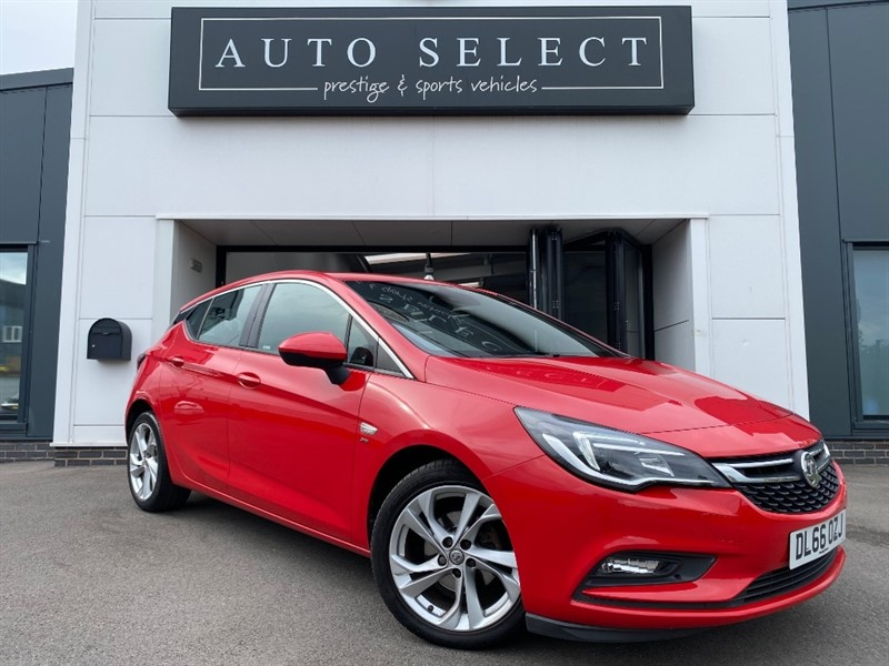 used Vauxhall Astra SRI 1.6 CDTI �ZERO ROAD TAX!! JUST SERVICED!! in chesterfield