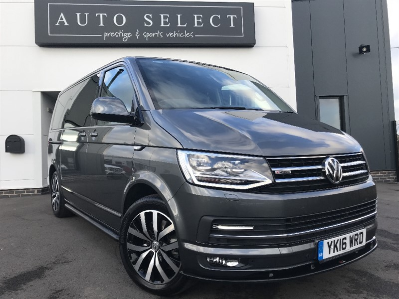 used VW Caravelle EXECUTIVE 2.0TDI BMT 4 MOTION MONSTER SPEC!! 14K OF EXTRAS!! AWSOME SPEC!! in chesterfield