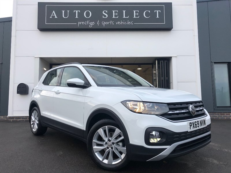 used VW T-Cross SE 1.0 TSI ONLY 320 MILES FROM NEW!! in chesterfield