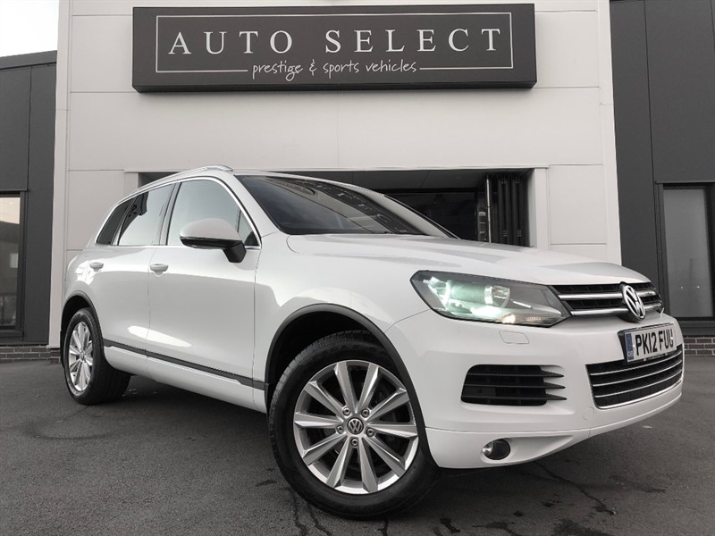 used VW Touareg V6 SE 3.0TDI BLUEMOTION TECHNOLOGY FREE UK MAINLAND DELIVERY!!! in chesterfield