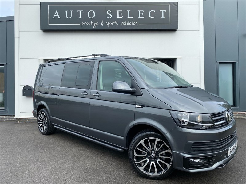 used VW Transporter T6 2.0 TDI W/V BMT T32 DSG LWB STUNNING VAN!! in chesterfield