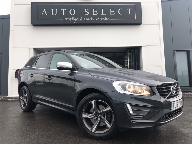 used Volvo XC60 D4 R-DESIGN NAV AWD in chesterfield