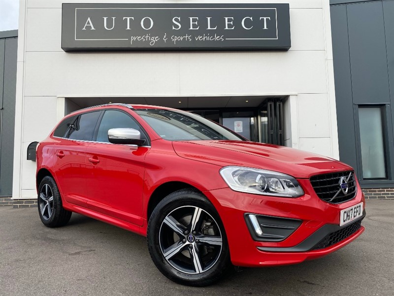 used Volvo XC60 2.0 D4 R-DESIGN LUX NAV IMMACULATE!! in chesterfield