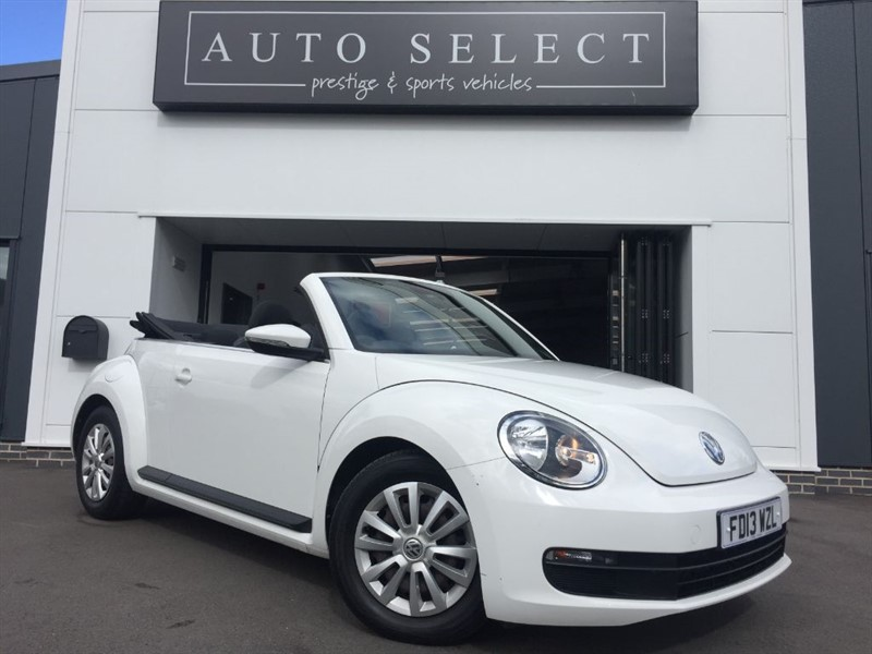 used VW Beetle 1.6 TDI BLUEMOTION TECHNOLOGY CONVERTIBLE FVWSH!! in chesterfield