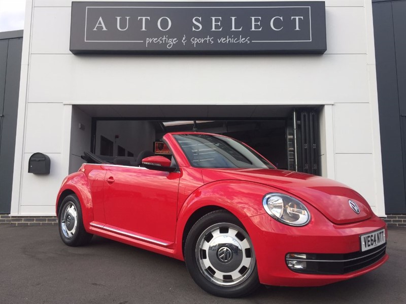 used VW Beetle DESIGN 1.6 TDI BLUEMOTION TECHNOLOGY FVWSH!! STUNNING CAR!! in chesterfield