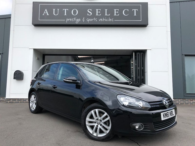 used VW Golf GT 2.0 TDI BLUEMOTION TECHNOLOGY HEATED BLACK LEATHER in chesterfield