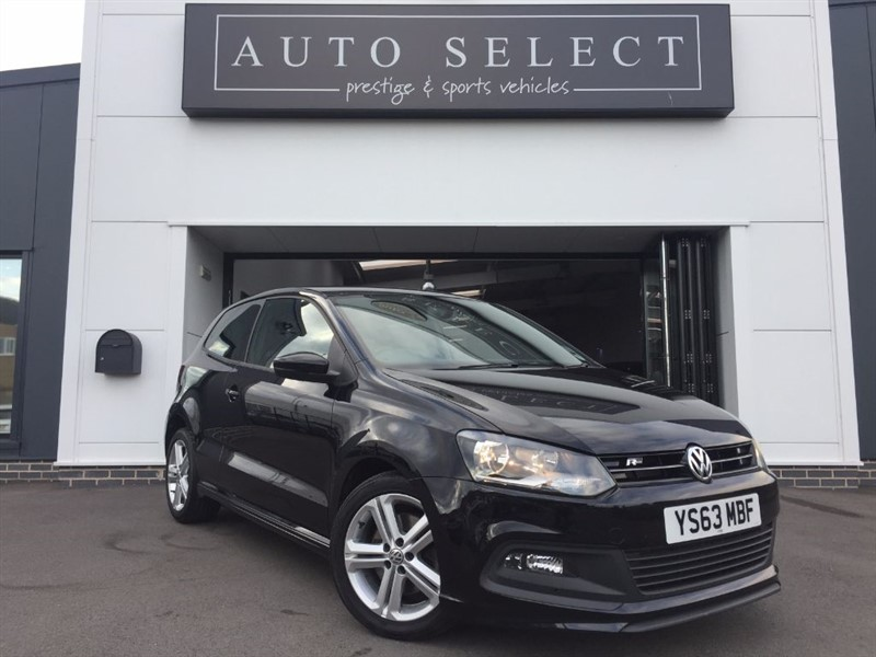 used VW Polo R LINE 1.2 TSI (104bhp) 1 OWNER FROM NEW!! FVWSH!! in chesterfield