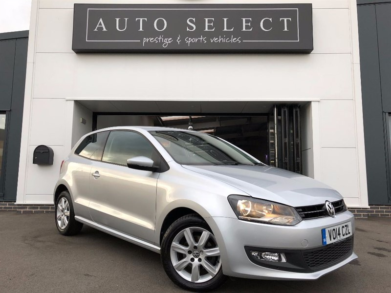 used VW Polo 1.2 MATCH EDITION 1 OWNER!! in chesterfield