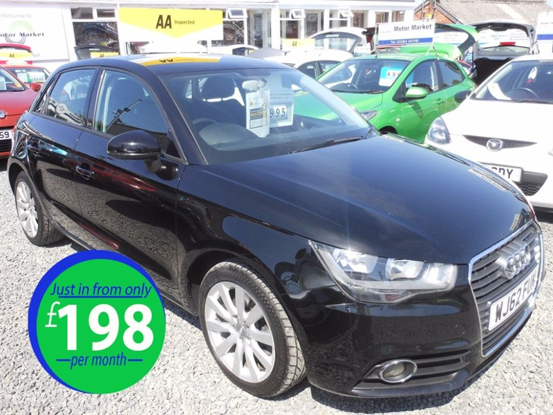 used Audi A1 SPORTBACK TDI SPORT in cradley-heath-west-midlands