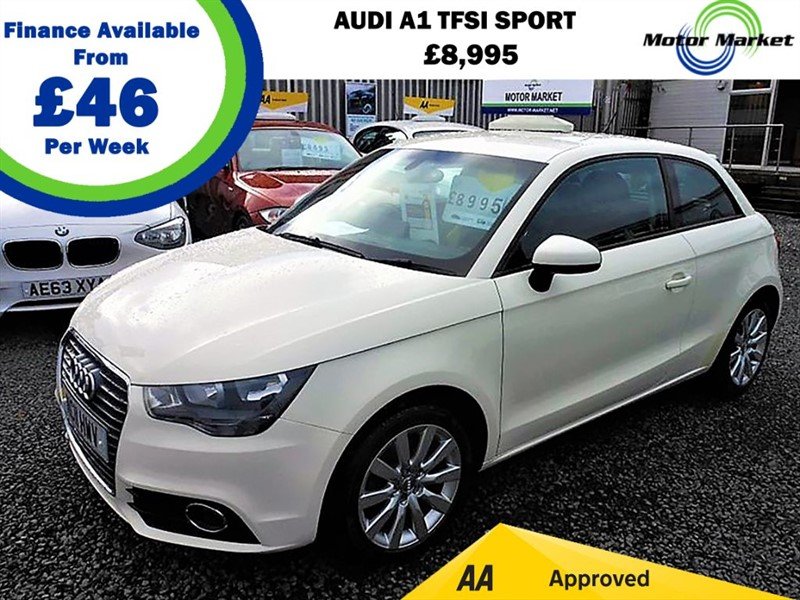 used Audi A1 TFSI SPORT in cradley-heath-west-midlands