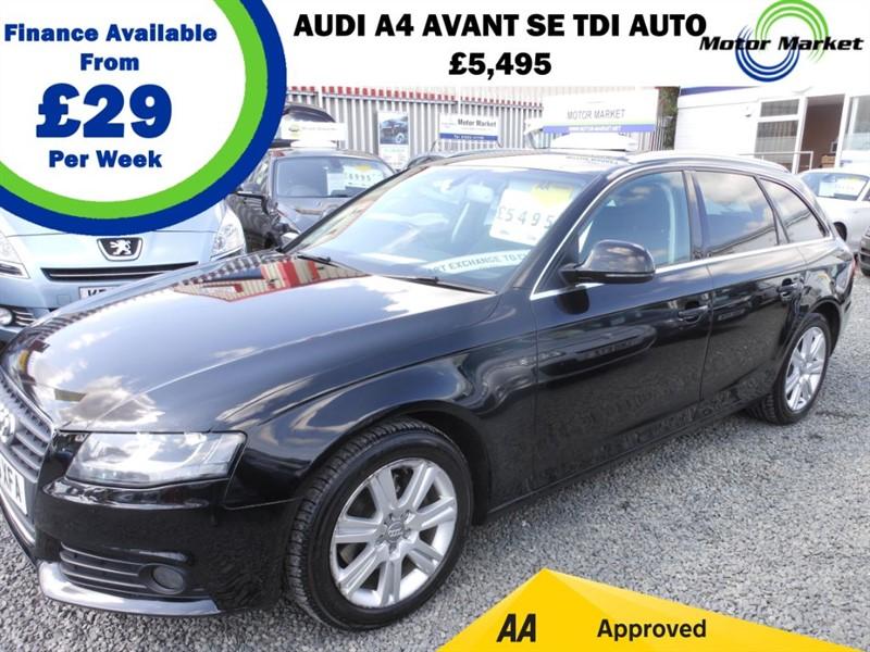 used Audi A4 Avant TDI SE DPF in cradley-heath-west-midlands