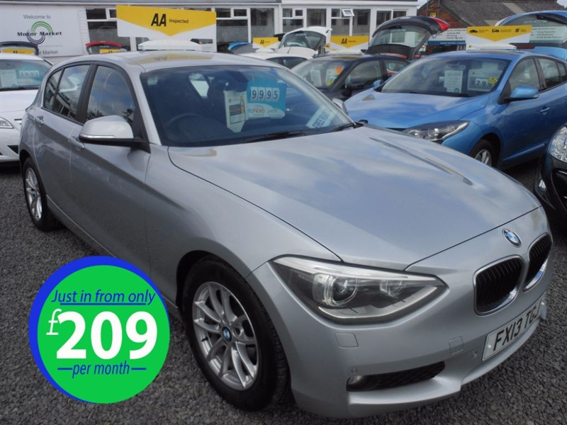 used BMW 116d EFFICIENTDYNAMICS in cradley-heath-west-midlands