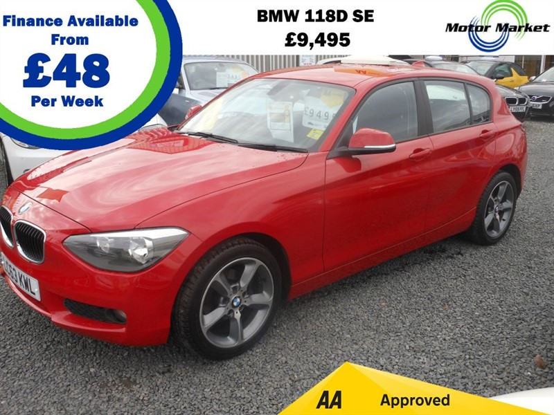 used BMW 118d SE in cradley-heath-west-midlands