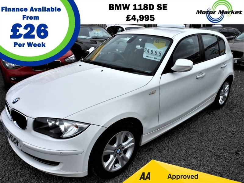 used BMW 118d SE in cradley-heath-west-midlands
