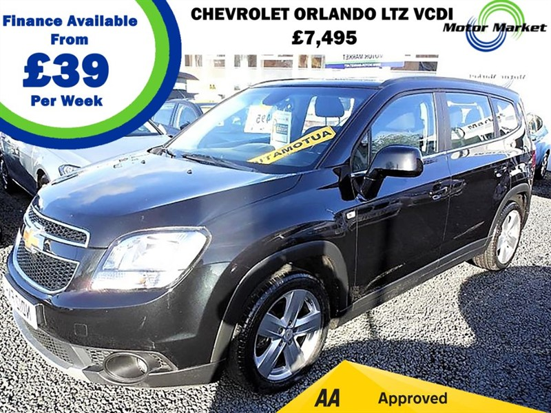 used Chevrolet Orlando LTZ VCDI in cradley-heath-west-midlands