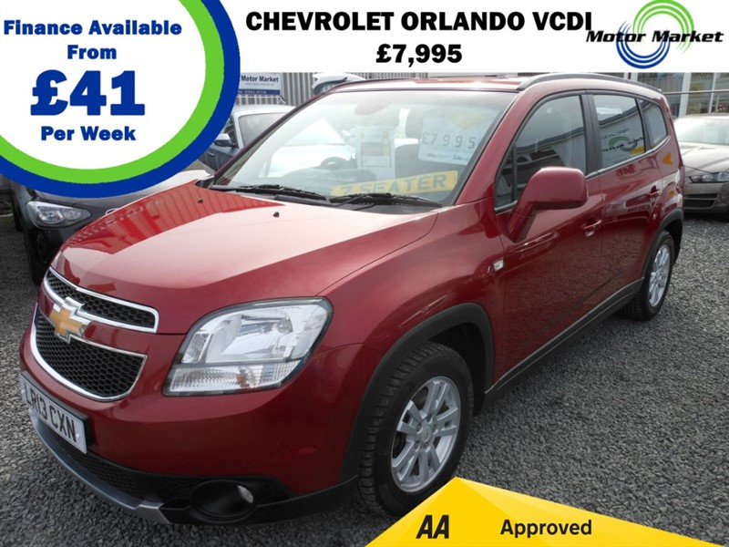 used Chevrolet Orlando LT VCDI in cradley-heath-west-midlands