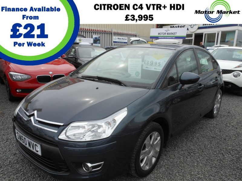 used Citroen C4 VTR PLUS HDI in cradley-heath-west-midlands