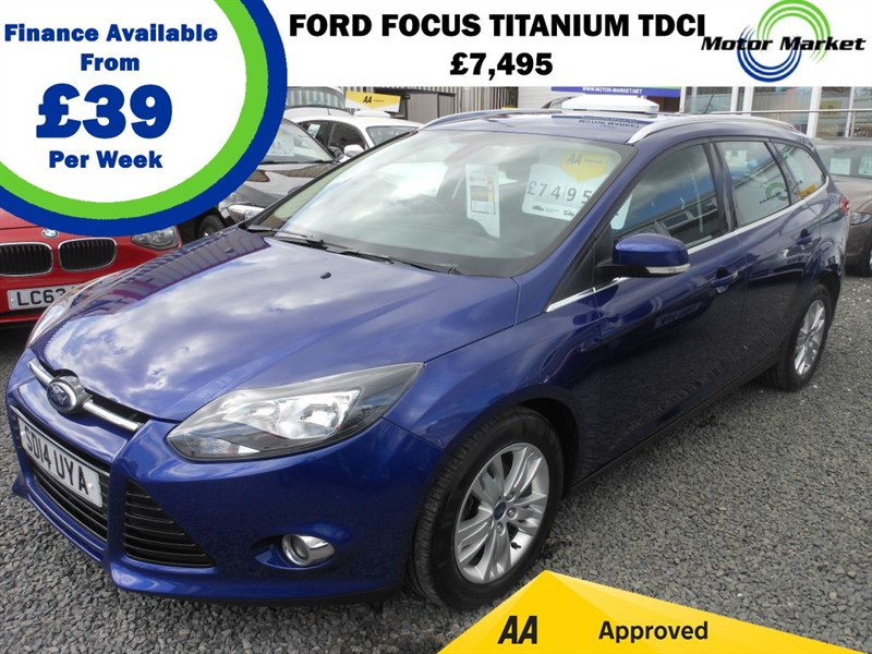 used Ford Focus TITANIUM NAVIGATOR TDCI in cradley-heath-west-midlands