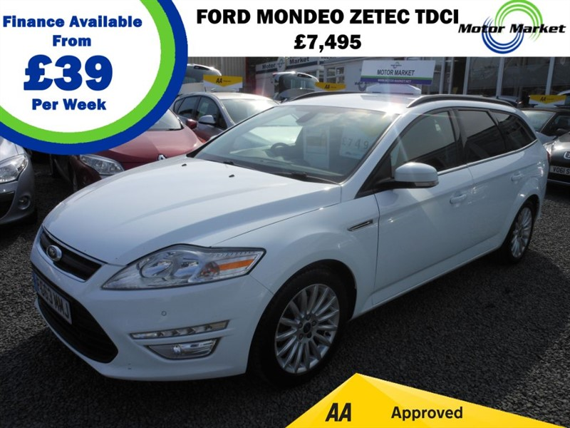 used Ford Mondeo ZETEC BUSINESS EDITION TDCI in cradley-heath-west-midlands