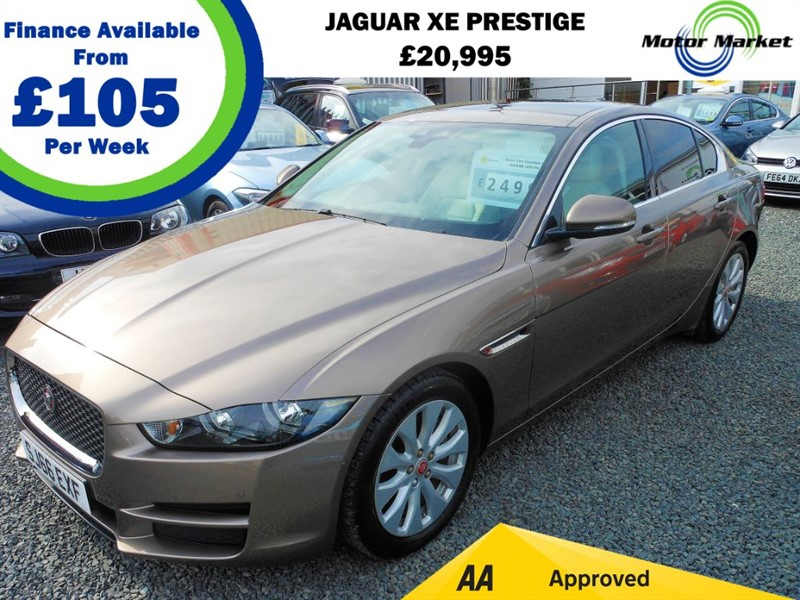 used Jaguar XE PRESTIGE in cradley-heath-west-midlands