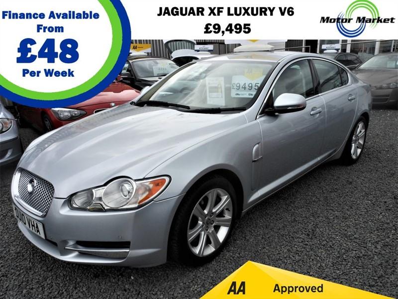used Jaguar XF V6 LUXURY in cradley-heath-west-midlands