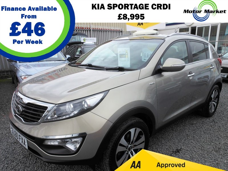 used Kia Sportage CRDI FIRST EDITION in cradley-heath-west-midlands