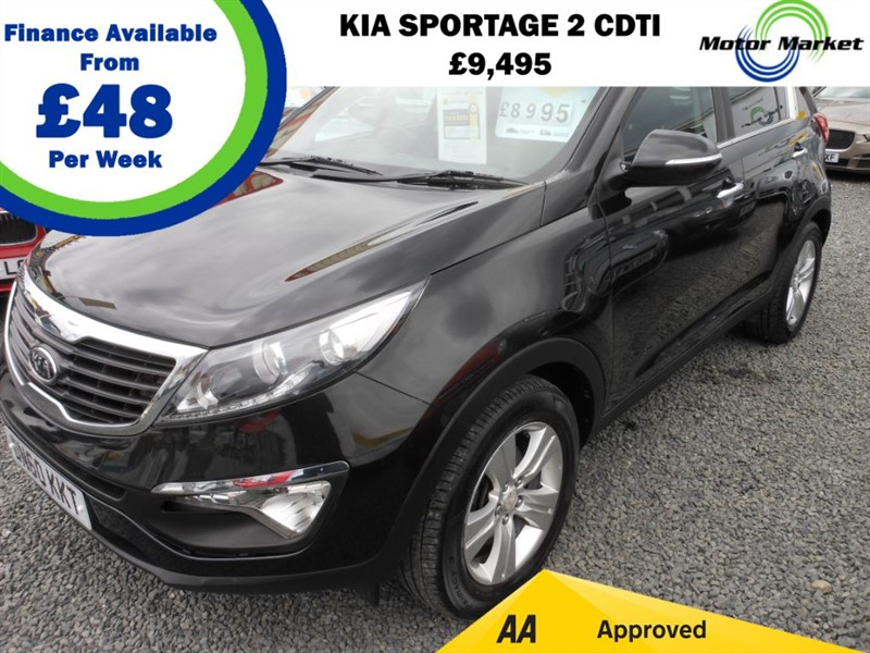 used Kia Sportage CRDI 2 in cradley-heath-west-midlands