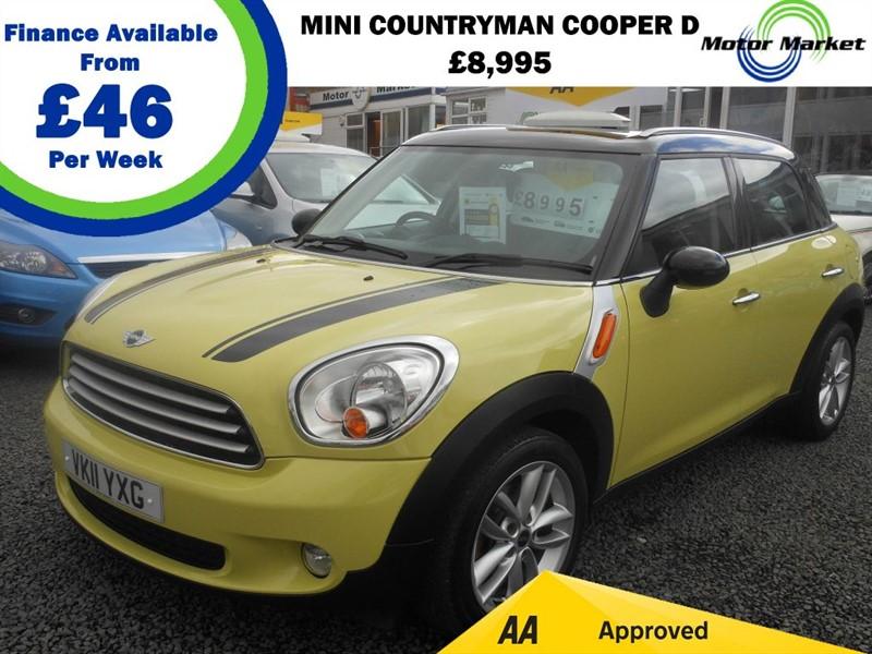used MINI Countryman COOPER D in cradley-heath-west-midlands