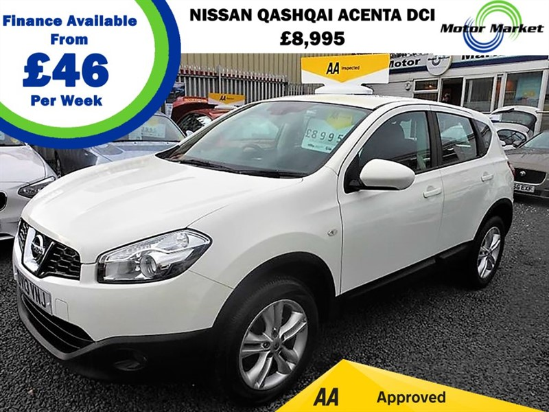 used Nissan Qashqai ACENTA DCI in cradley-heath-west-midlands
