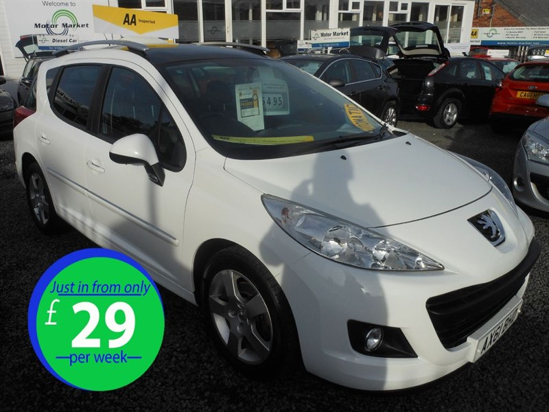 used Peugeot 207 HDI SW ACTIVE in cradley-heath-west-midlands
