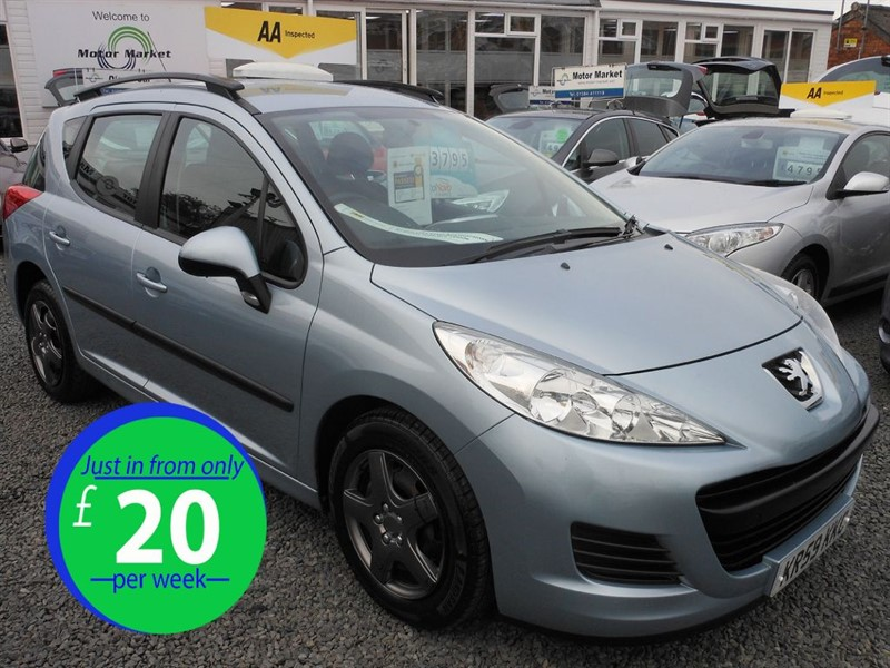 used Peugeot 207 SW S HDI in cradley-heath-west-midlands